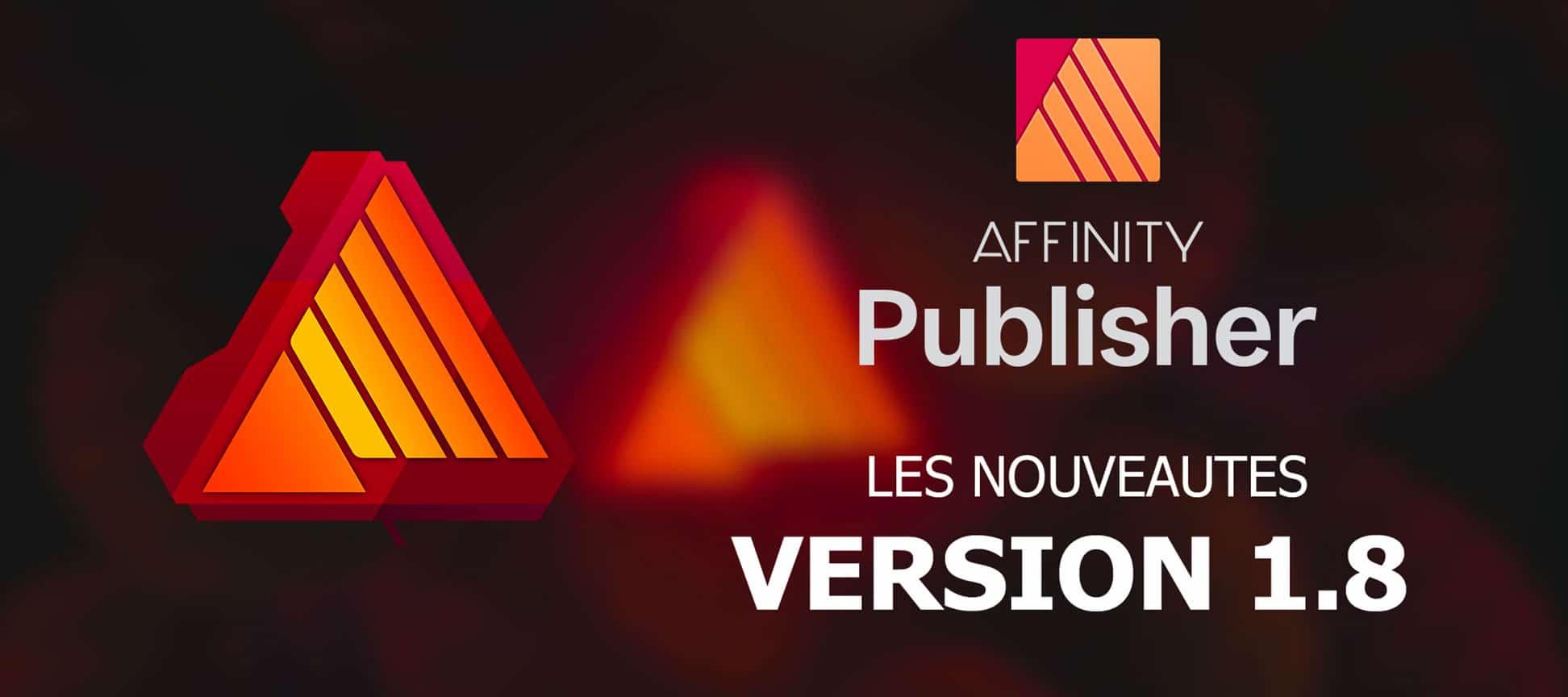 vignette tutoriel nouveautes affinity publisher 1.8