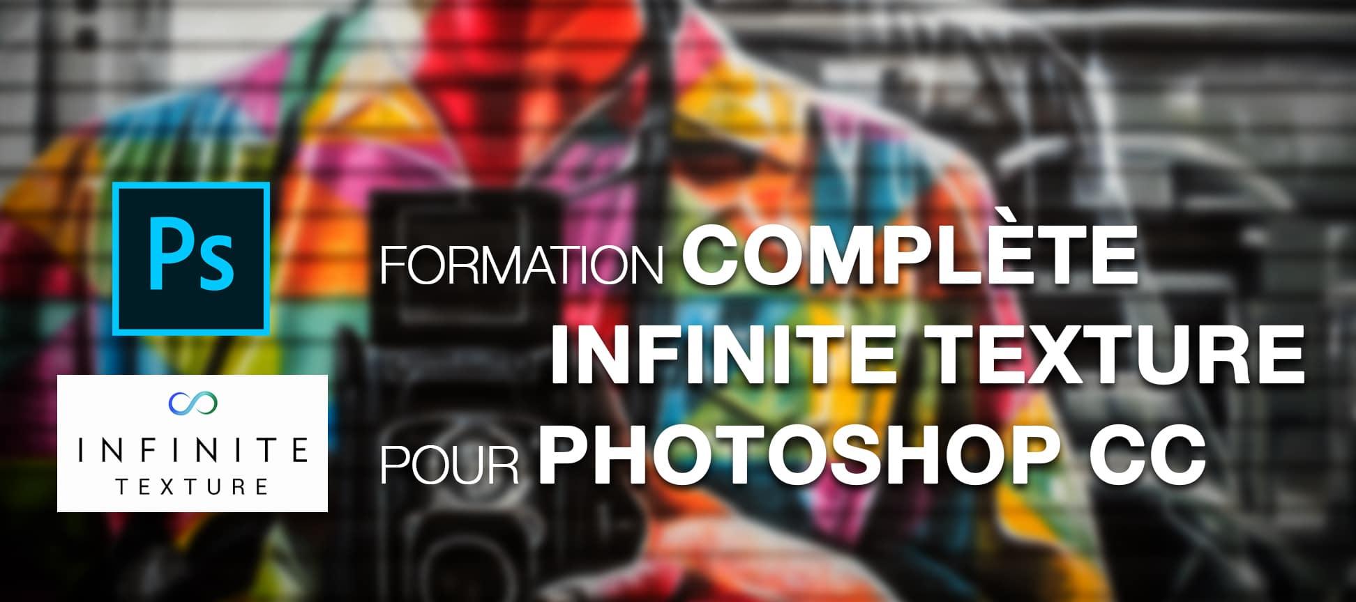 Formation complète Infinite Texture Panel pour Adobe Photoshop CC