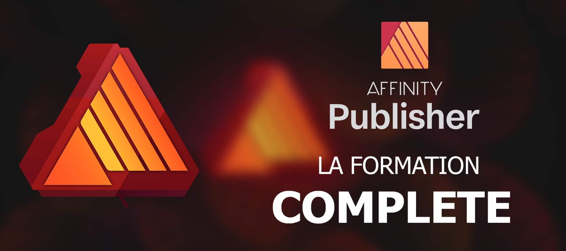 Affinity Publisher la formation complète