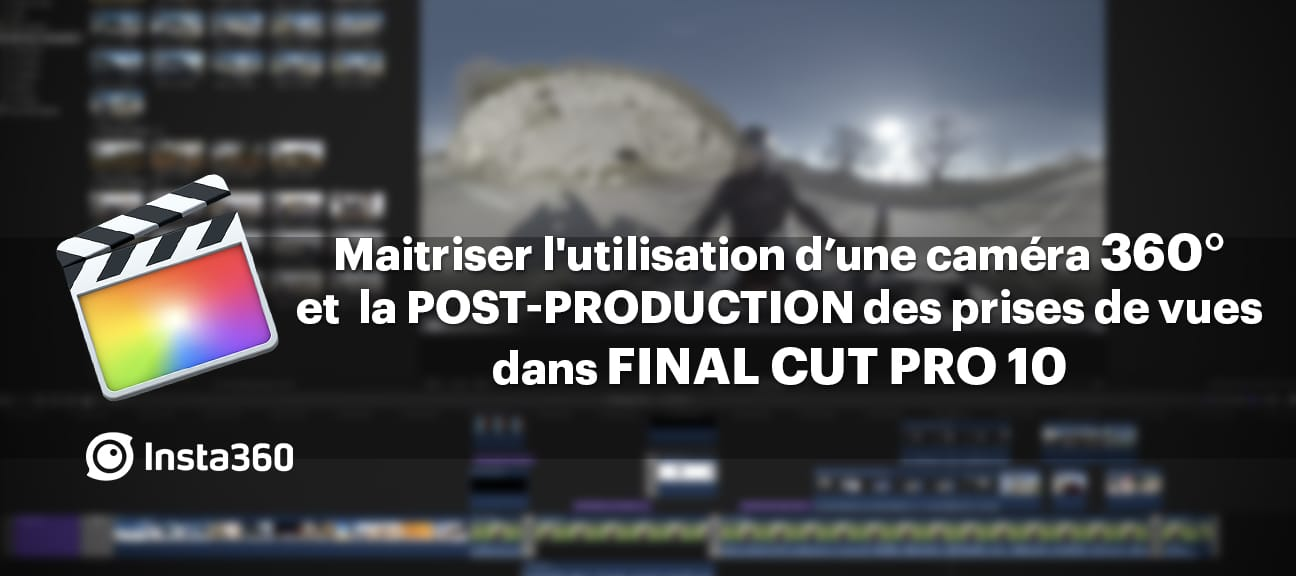 montage video 360 final cut pro