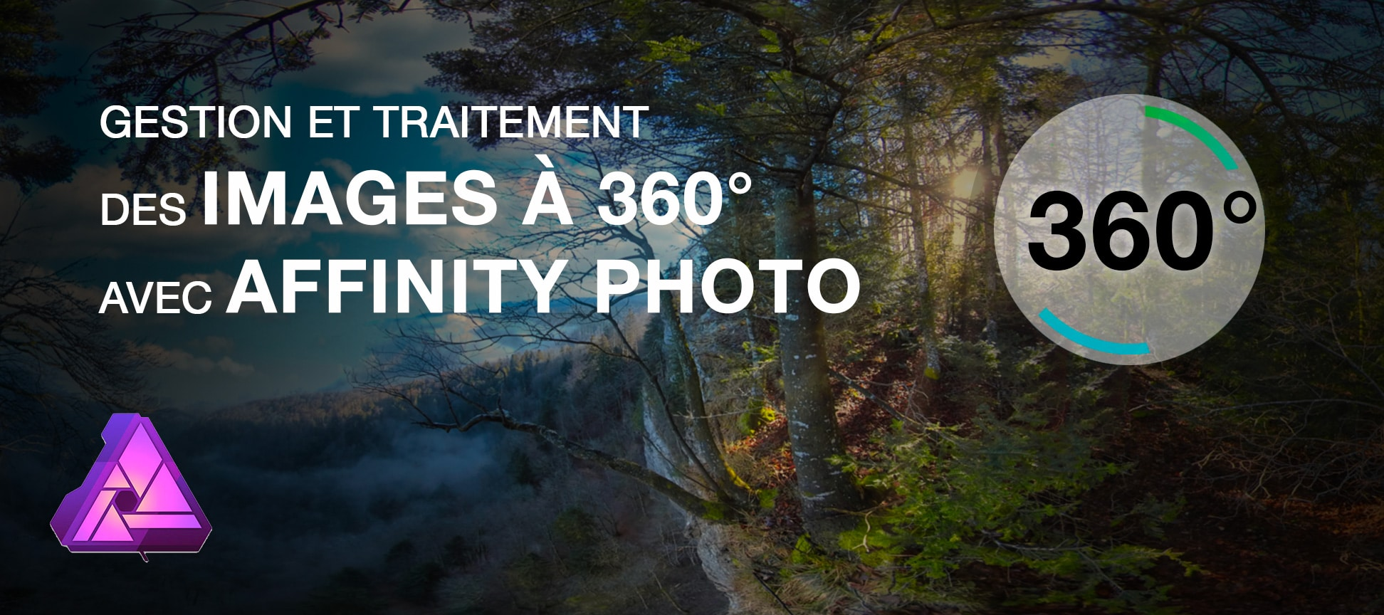 gestion traitement images 360 affinity photo