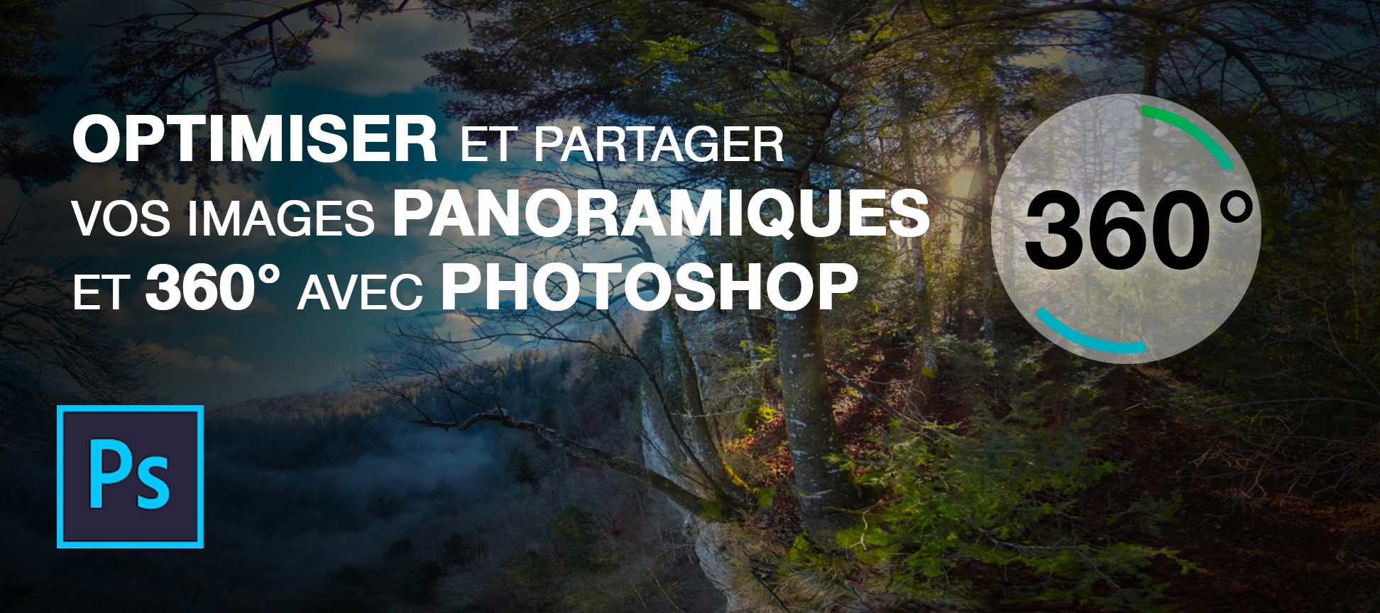 optimiser partager image 360 adobe photoshop