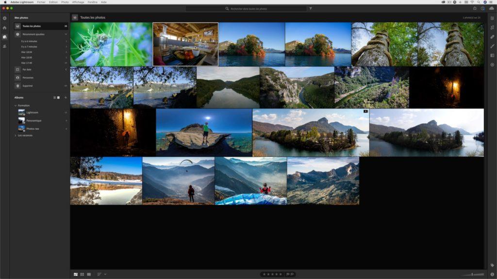 Synchroniser des photos depuis le Cloud Adobe entre Lightroom Mobile et Photoshop Lightroom