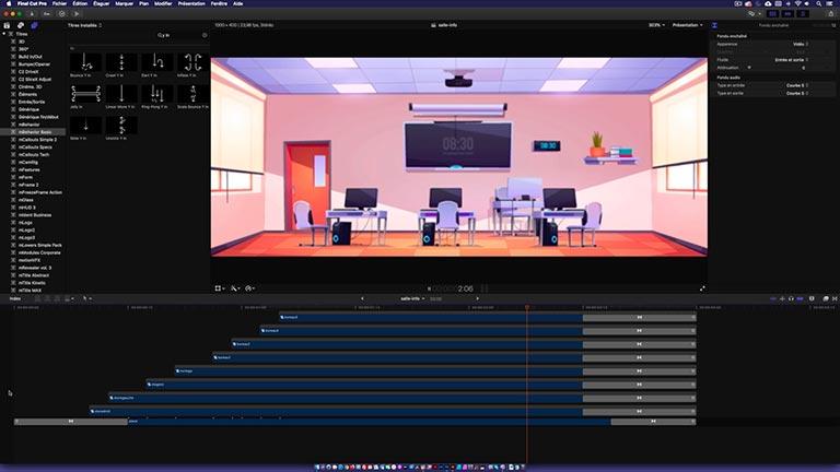 Installation et utilisation plugin MBehavior MotionVFX pour Final Cut Pro