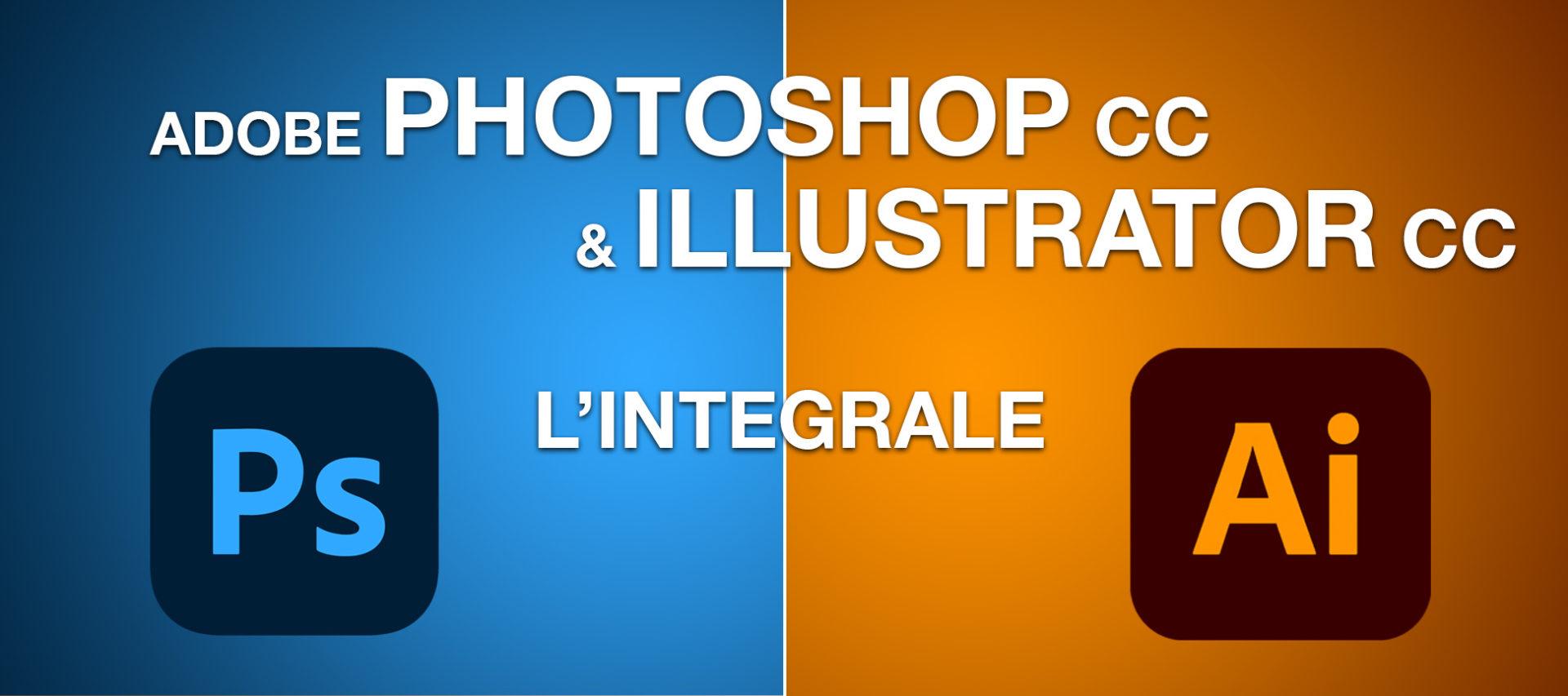 Formation Adobe Photoshop et Illustrator CC en vidéo l'intégrale